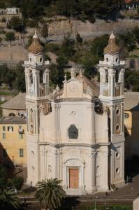 Chiesa di San Matteo a Laigueglia, Riviera delle Palme, Baia del Sole