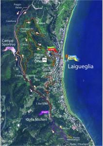 Nordic Walking Laigueglia Park